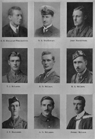 Edinburgh University Roll Of Honour 1914-1919 Plate 52 | Other Files | Photography and Images
