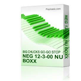 Neg 12-3-00 Nu Boxx | Music | Miscellaneous