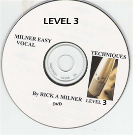 MILNER EASY VOCAL TECHNIQUES Level 3
