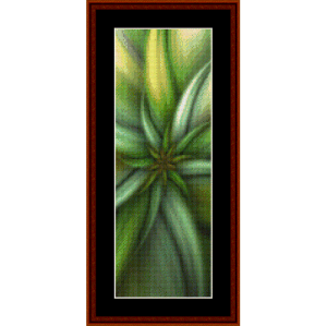 Fractal 284 Bookmark cross stitch pattern by Cross Stitch Collectibles | Crafting | Cross-Stitch | Other
