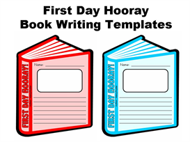 First Day Hooray Book Templates (Nancy Poydar) | Other Files | Documents and Forms