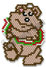 Banner Bear Ornament | eBooks | Arts and Crafts