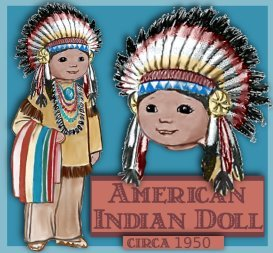 American Indian Boy Doll | eBooks | Arts and Crafts