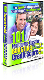 101 Powerful Tips for Legally Improving Your Credit Score | eBooks | Home and Garden