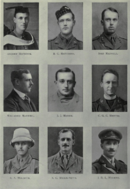 Edinburgh University Roll Of Honour 1914-1919 Plate 57 | Other Files | Photography and Images