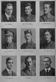 edinburgh university roll of honour 1914-1919 plate 59