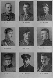 Edinburgh University Roll Of Honour 1914-1919 Plate 60 | Other Files | Photography and Images