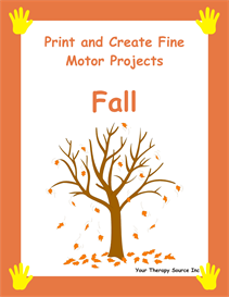 Print and Create Fine Motor Fall | eBooks | Entertainment