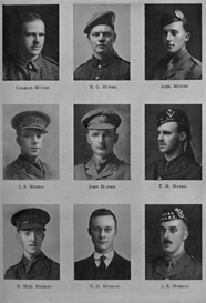 edinburgh university roll of honour 1914-1919 plate 62