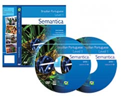 Semantica Brazilian Portuguese Video Course, Lessons 1-12 | Movies and Videos | Educational