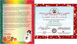 Santa Letter Nice List Combo - Snowman Gifts Design | Other Files | Patterns and Templates