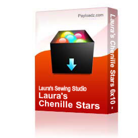 Laura's Chenille Stars 6x10 - DST | Other Files | Arts and Crafts