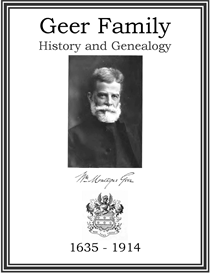 Geer Family History and Genealogy | eBooks | History