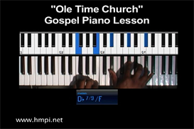 Ole Time Church Gospel Piano Lesson | Movies and Videos | Educational