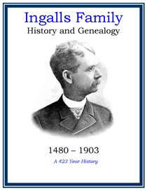 Ingalls Family History and Genealogy | eBooks | History
