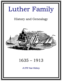 Luther Family History and Genealogy | eBooks | History