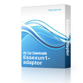 Essexun1-adaptor | Software | Add-Ons and Plug-ins