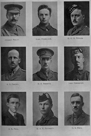 edinburgh university roll of honour 1914-1919 plate 66