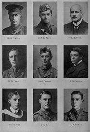 Edinburgh University Roll Of Honour 1914-1919 Plate 67 | Other Files | Photography and Images