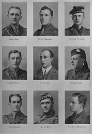 Edinburgh University Roll Of Honour 1914-1919 Plate 68 | Other Files | Photography and Images