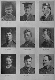 edinburgh university roll of honour 1914-1919 plate 71