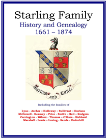 Starling Family History and Genealogy | eBooks | History