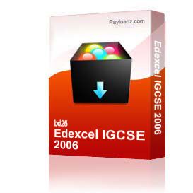 Edexcel IGCSE 2006 | Other Files | Documents and Forms