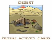 Deserts Picture Activity Cards | eBooks | Science