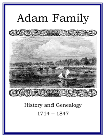 Adam Family History and Genealogy | eBooks | History