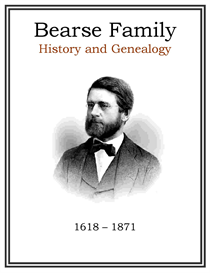 Bearse Family History and Genealogy | eBooks | History
