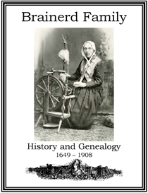 Brainerd Family History and Genealogy | eBooks | History