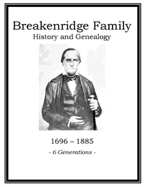 Breakenridge Family History and Genealogy | eBooks | History