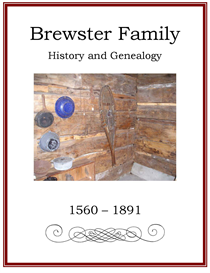 Brewster Family History and Genealogy | eBooks | History
