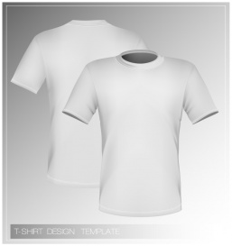 Vectorlib RF (Standard License): Vector illustration. T-shirt design template (front & back).