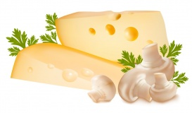 Vectorlib RF (Standard License): Cheese with mushrooms and parsley