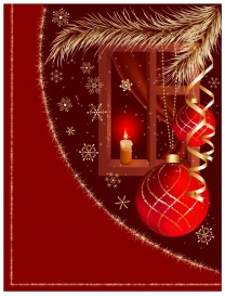 Vectorlib RF (Standard License): Vector christmas background.