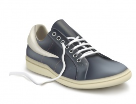 Vectorlib RF (Standard License): Free Vector - Sneakers. Photo-realistic vector illustration of the sports shoe