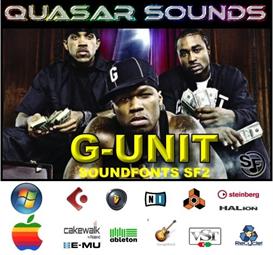 G-Unit Kit - Soundfonts Sf2 | Music | Soundbanks