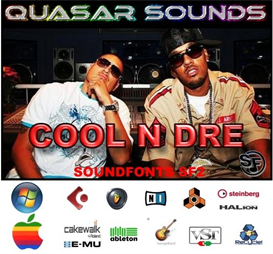 Cool N Dre Kit - Soundfonts Sf2 | Music | Soundbanks