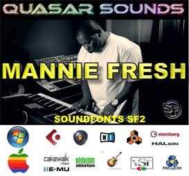 Mannie Fresh - Cash Money Kit - Soundfonts Sf2 | Music | Soundbanks