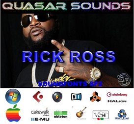 Rick Ross Kit - Soundfonts Sf2 | Music | Soundbanks