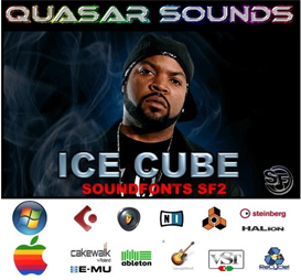 Ice Cube Kit - Soundfonts Sf2 | Music | Soundbanks