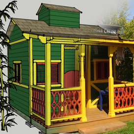 jungle adventure playhouse plans