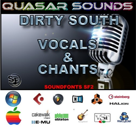 Dirty South Vocals & Chants Kit - Soundfonts Sf2 | Music | Rap and Hip-Hop