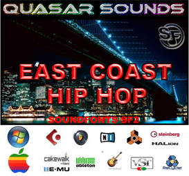 east coast hip hop - soundfonts sf2
