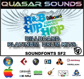 hip hop & r&b billboard charts platinum drum kits -  sf2