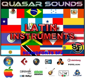 Latin Music Instruments - Soundfonts Sf2 | Music | Soundbanks