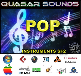 Pop Music Instruments - Soundfonts Sf2 | Music | Popular