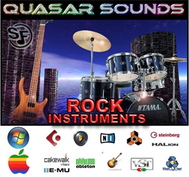 Rock Instruments - Soundfonts Sf2 | Music | Rock