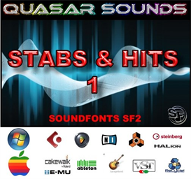 Stabs & Hits Kit Vol 1 - Soundfonts Sf2 | Music | Soundbanks